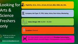 Staff required for HIitech systems Valasaravakkam