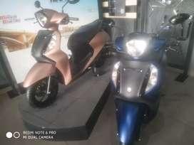 YAMAHA Fascino BS6 NEW VEHICLE PAY Rs. 5555/-