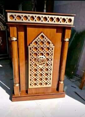 mimbar masjid podium murah meriah