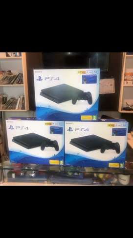 Ps4 slim consoles best offer 1 year warranty