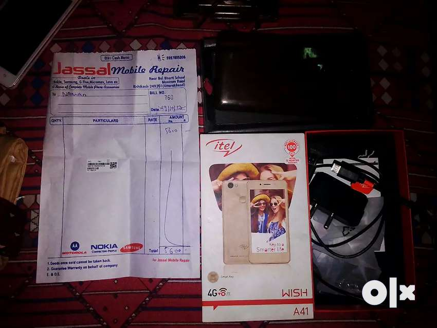 Itel wish A41  with orginal box and charger 0