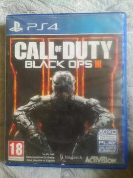 PS4 COD Black Ops 3 region 2. For sale