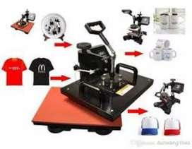 T-shirts photo printing machine