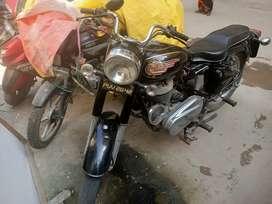 antique bullet 1976 make for sale fancy no punjab registered