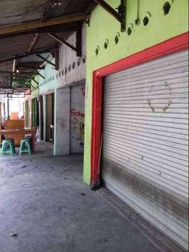 Kios Disewakan NEGO / MURAH : BEBAS sampah, Air & Retribusi
