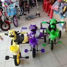 Sepeda Roda Tiga Anak Merk Atlantis Keranjang Belakang