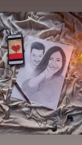 Only ₹300 Sketch Drawing artwork gifts