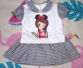 Baju Anak Cewek Dress Anak Perempuan