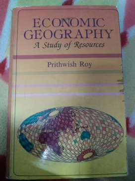 ECONOMIC GEOGRAPHY A Study of Resources