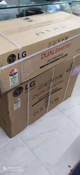 Unused LG 2 ton 3star dual INVERTER 2020 AC