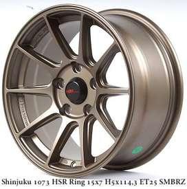 SHINJUKU 1073 HSR R15X7 H5X114,3 ET25 SMBRZ