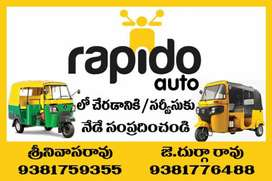 Rapido  and uber attached jobs