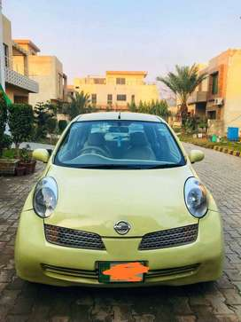 Nissan March Family Maintained Car, Non-Accidental, Excellent AC