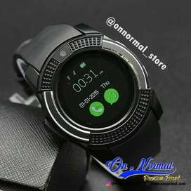 smartwatch V8 jam tangan hp smart watch samsung gear android ios iPods