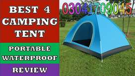 Camping Tent enough cupboards and fragments for you to