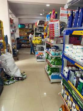 billing in supermarket
