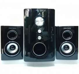 speaker polytron pma multimedia audio bluetooth usb sd mmc fm 9300