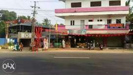 Commercial building near madathara pezhumood junction.