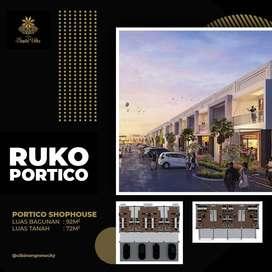 jual ruko 2 lantai cluster winner sapta villa cibinong new city jabar