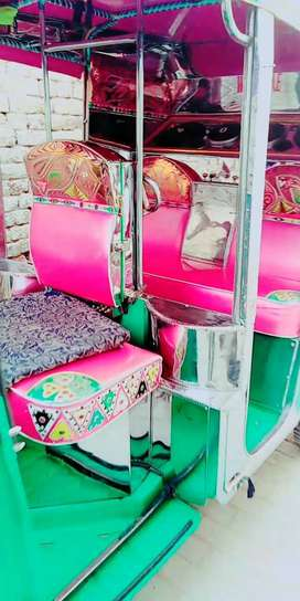 CNG Rikshaw with ideal decoration, Led, LPG and petrol as well