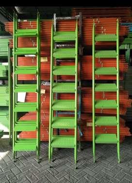 Stair , anak tangga besi , plat bordes