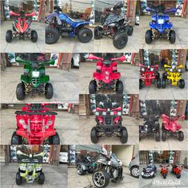 Battery & Petrol Atv Quad 4 Wheels Bikes Available At Subhan