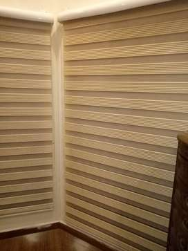 Roller blind all type in azam interior glass paper wood floor