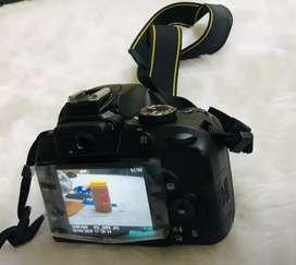 Nikon D3400 With 18-55 Lense