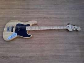 gitar bass fender jazz bass natural murah