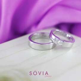 menjual cincin sepasang mewah elegant harga murah