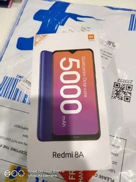Redmi 8A brand new sealed phone from flipkart for sale 6700rs
