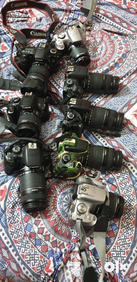 Canon DSLR on rent in Chandigarh 0