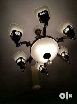 Chandelier light with bulb
