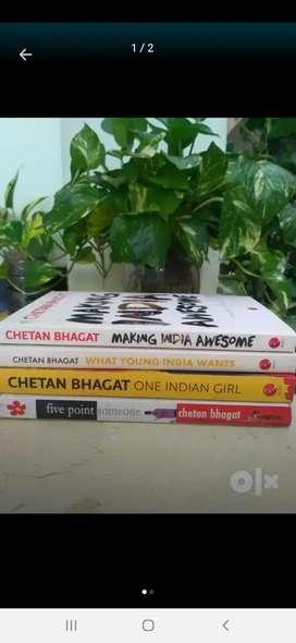 4 brand new Chethan Bhagath books at negotiable price
