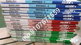 allen kota (40Book) NEET /AIIMS/jee BOOK 11th and 12th both all subpcb