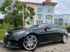 E400 Coupe AMG 2016 Black On Red Panoramic Sunroof Km9000 Super Antik