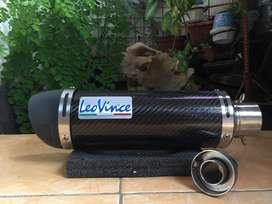 Knalpot LEO VINCE GP CORSA Import Carbon Original