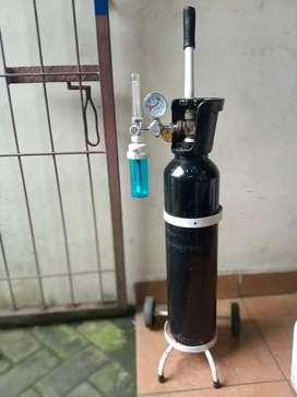 Tabung oksigen ukuran 1m³