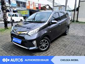[OLX Autos] Toyota Calya 2017 1.2 G A/T Bensin Abu Abu #Chelsea Mobil