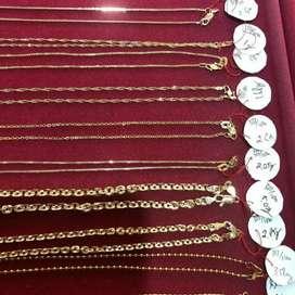 Terima perhiasan emas tanpa surat