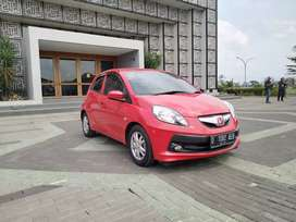 Dp 20 Juta Honda Brio E satya Manual 2016 Red