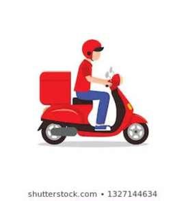 I want a delivery job