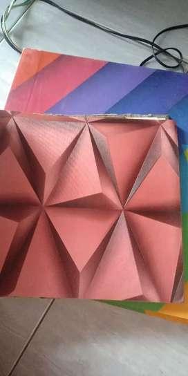 Wallpaper dinding parkit vinyl murah di kota Medan