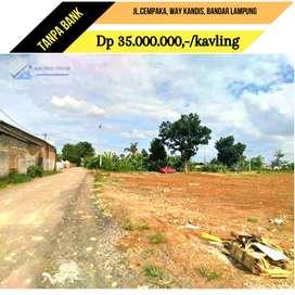 Dijual tanah kavling murah lokasi strategis