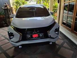Mitsubishi Xpander Exceed M/T 2018, putih, asli Denpasar, Samsat baru