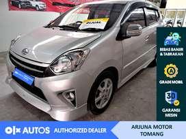 [OLXAutos] Toyota Agya 2016 TRD 1.0 Bensin A/T Silver #Arjuna Tomang