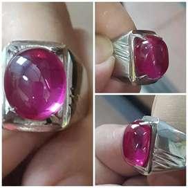 Synthetic purple sapphire