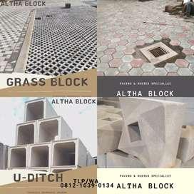 PAVING BLOCK,CONBLOCK,GRASS BLOK,ROSTER,BATA TEMPEL EXPOSE,UDITCH