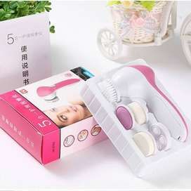 5 In 1 Electric Face Wash Brush Facial Cleansing Device Pore