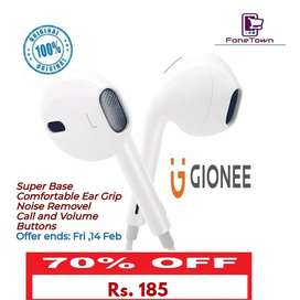 Gionee Origional Handsfree Limited Offer